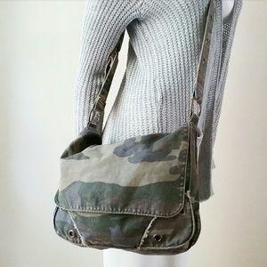 Old Navy Military Army Camo Crossbody Bag Purse